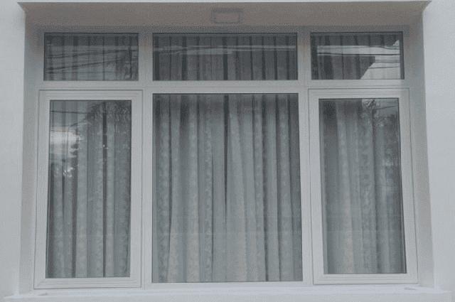 Cửa sổ bằng nhôm đem lại tính thẩm mỹ hơn