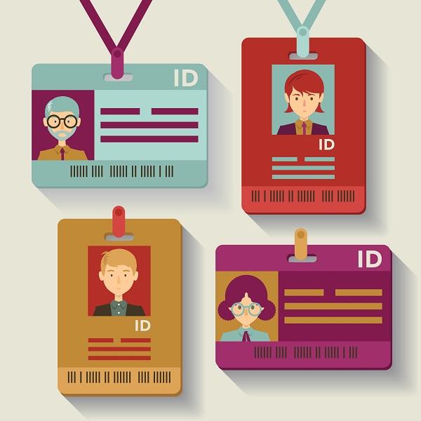 kích thước tiêu chuẩn của các dạng thẻ đeo nhân viên