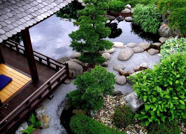 nghệ thuật sân vườn Nhật Bản