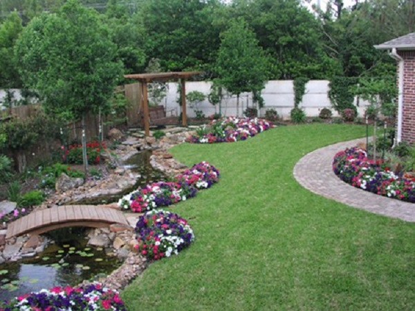 Trang trí vườn hợp phong thủy mang lại nhiều vận khí cho gia chủ