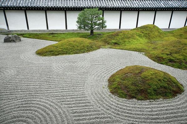 Phong cách Nghệ thuật sân vườn Nhật Bản - Vườn khô