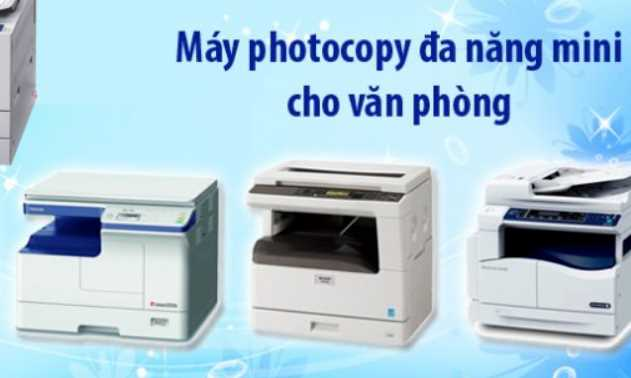 Dòng máy photocopy mini nào tốt nhất hiện nay