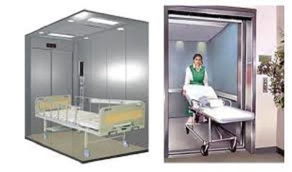 Thang máy ngày nay được sử dụng nhiều ở bệnh viện