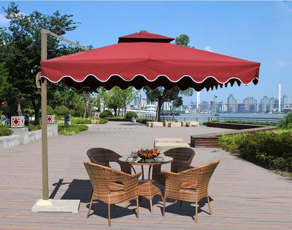Các mẫu bàn ghế cho quán cà phê ngoài trời