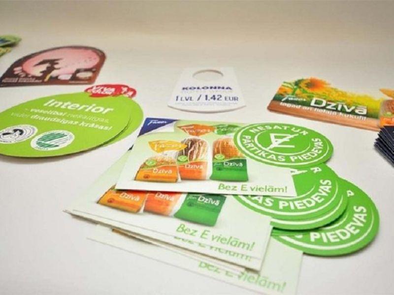 Sử dụng tem có kích thước phù hợp để tiết kiệm chi phí