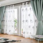 Rèm cửa có vải lót giúp chống nắng tốt hơn